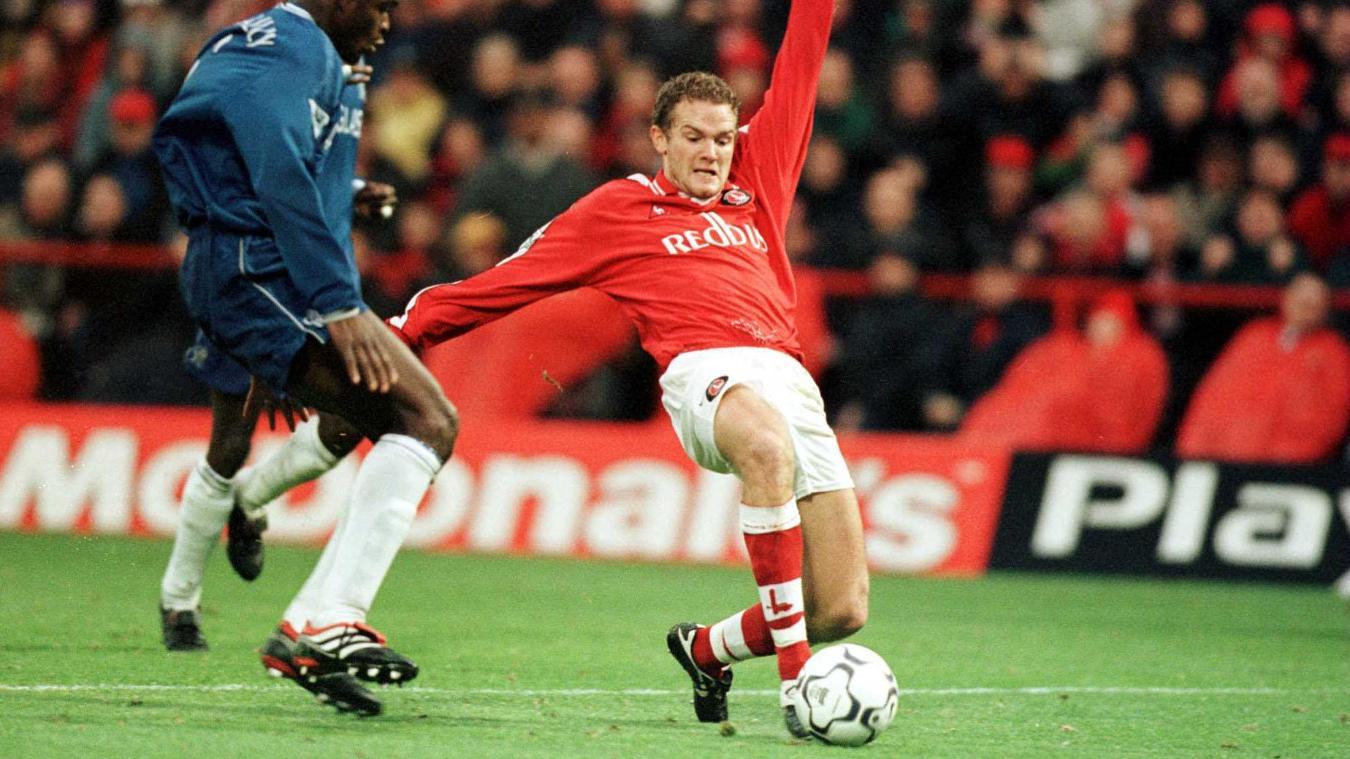 Jonatan Johansson's goal helped Charlton beat Chelsea at the Valley