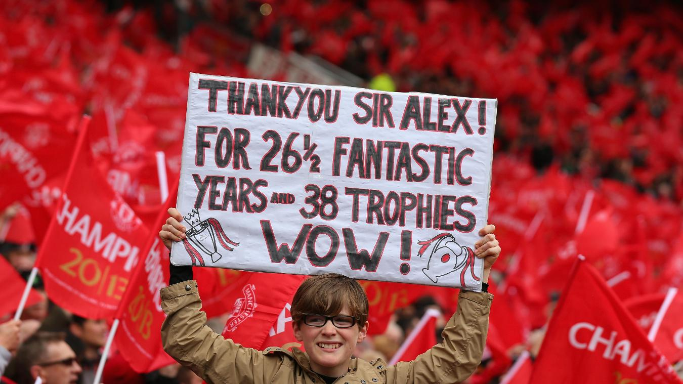 Ferguson's incredible trophy haul made a lasting impression with fans