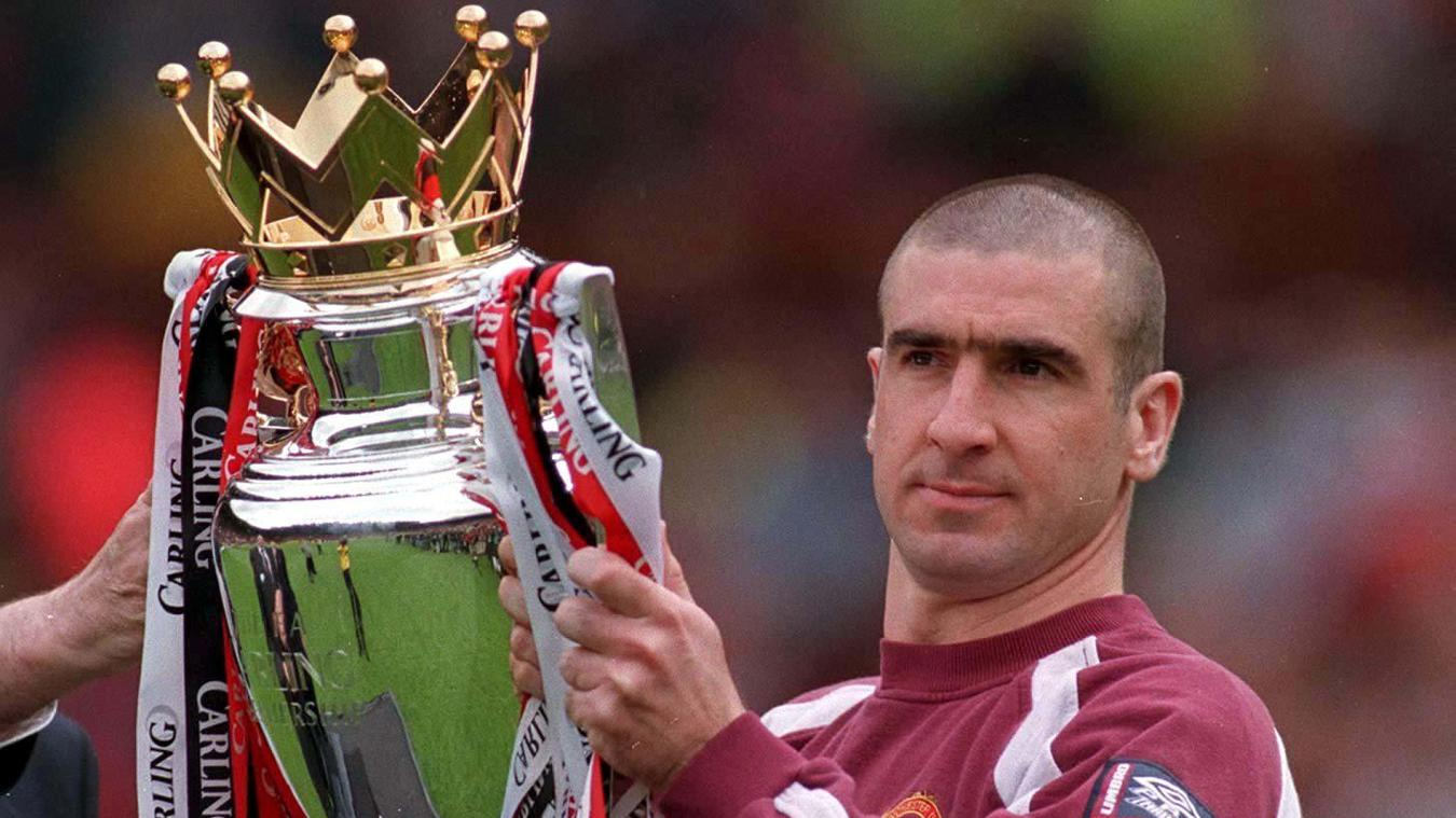 Cantona won four Premier League titles at Man Utd