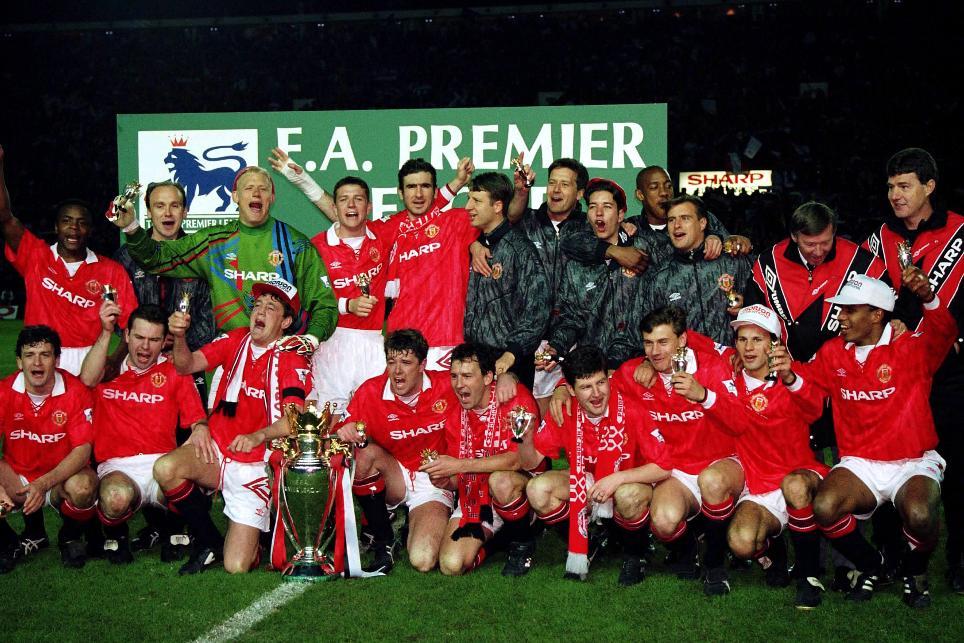 1992/93 Premier League champions: Manchester United