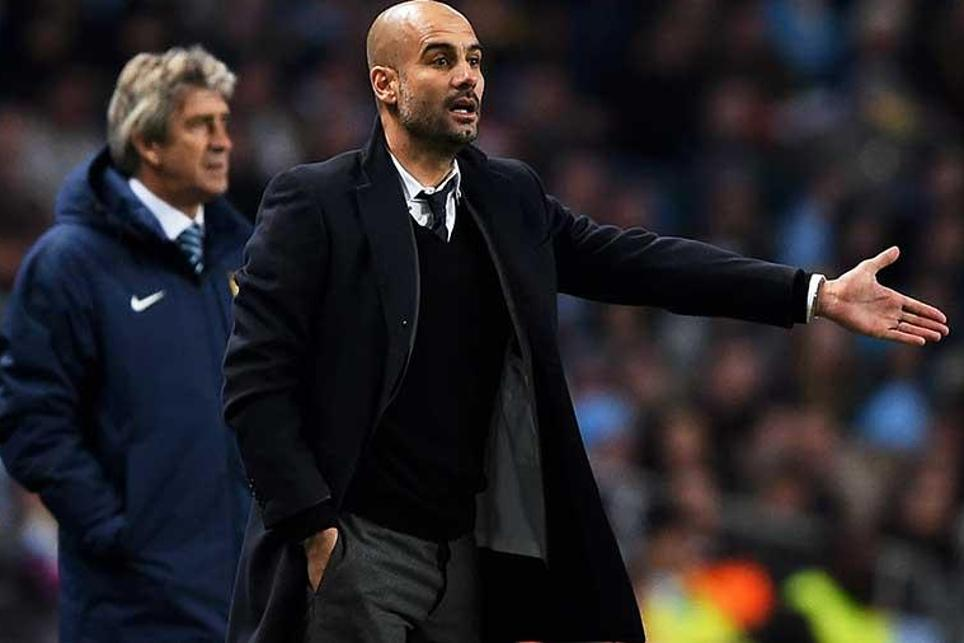Pep Guardiola will take over at Man City for the 2016/17 season for three years