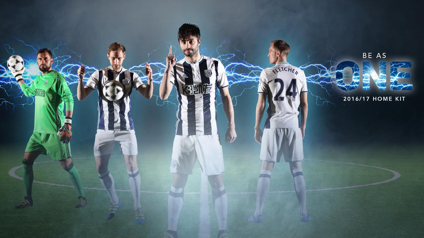 West Bromwich Albion home kit