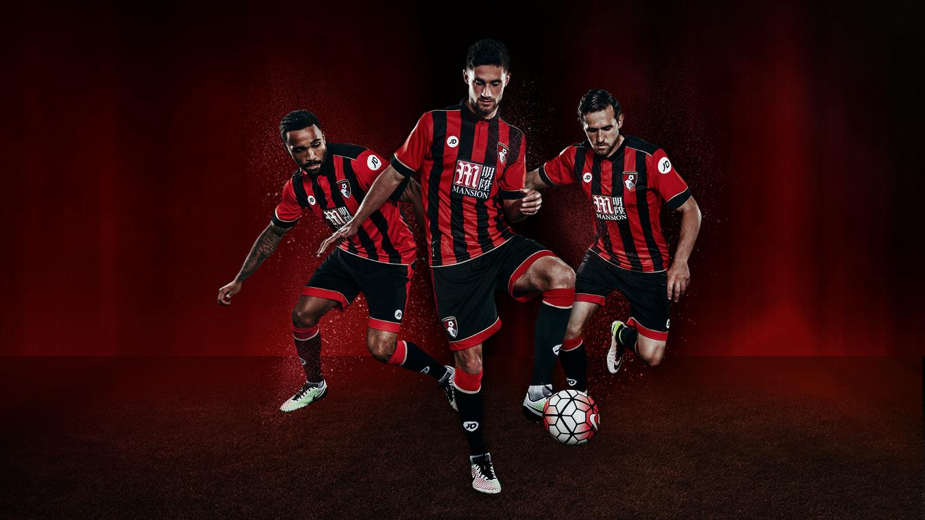 AFC Bournemouth home kit