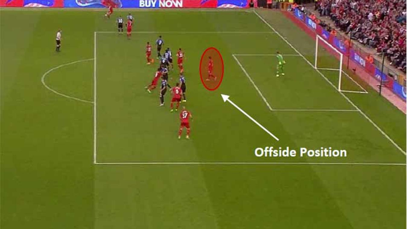 Figure 1 - Offside Position of Red10