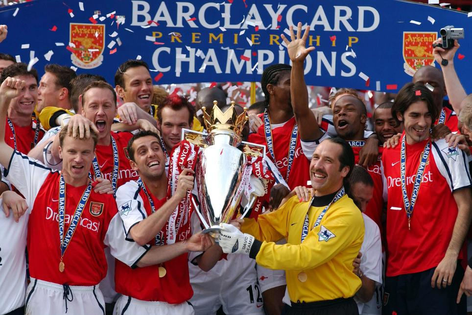 2001/02 Premier League champions: Arsenal
