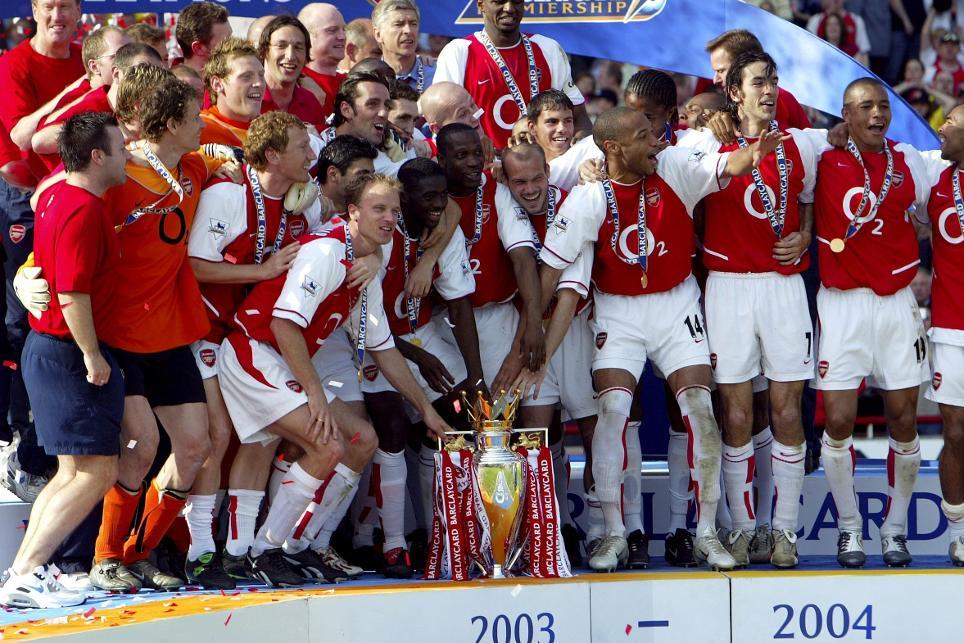 Image result for Arsenal 2004 EPL season