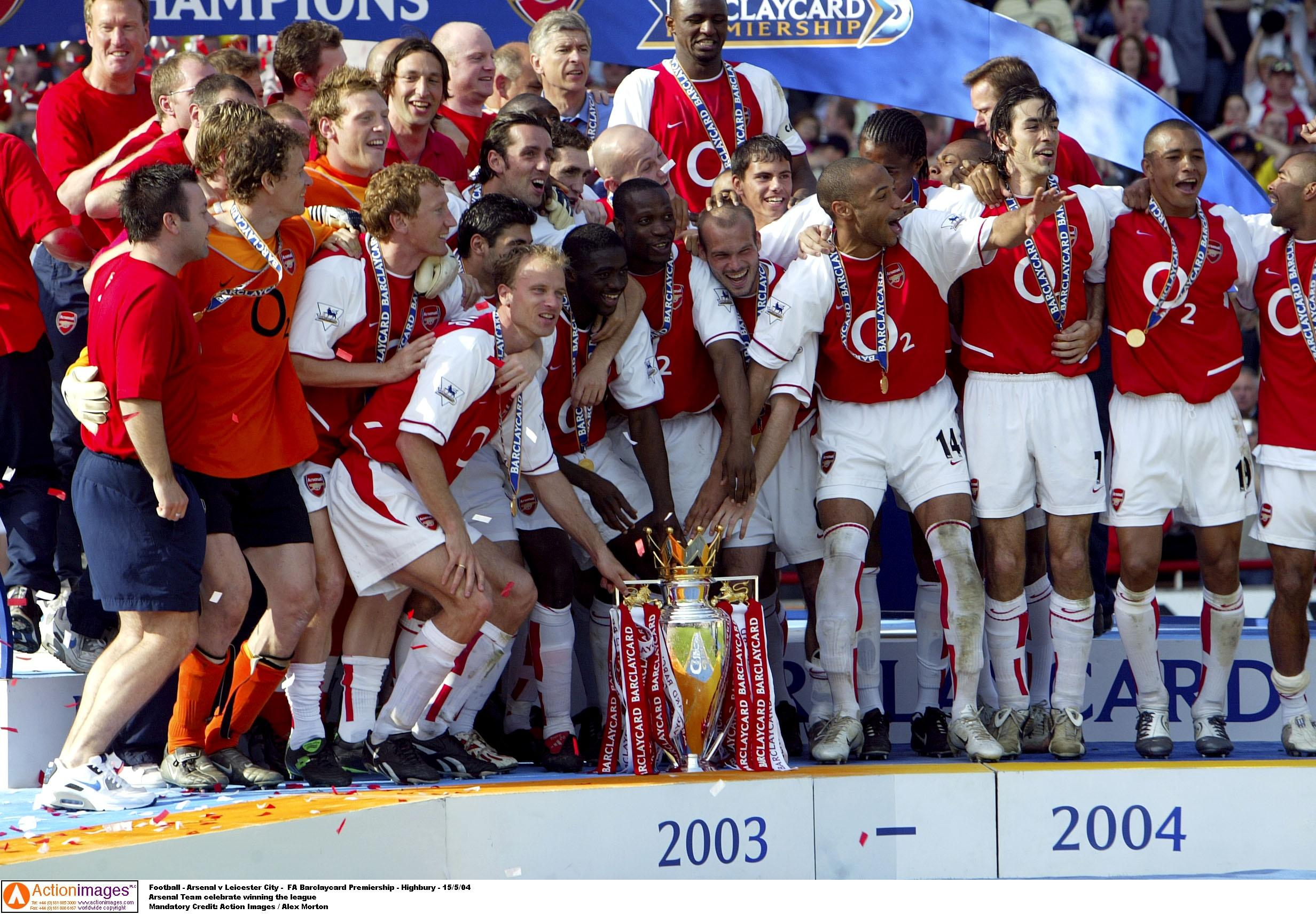 2003 04 Season Review Invincible Arsenal
