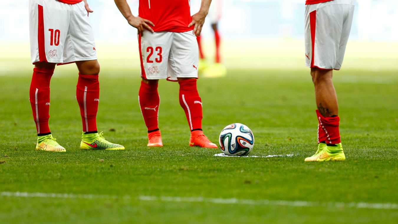 Vanishing Spray is used by referees for free-kicks