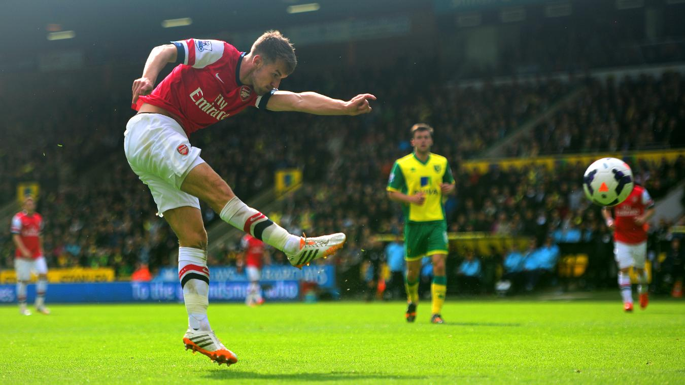 Ramsey gained 10 points after scoring a volley in a final-day victory at Norwich