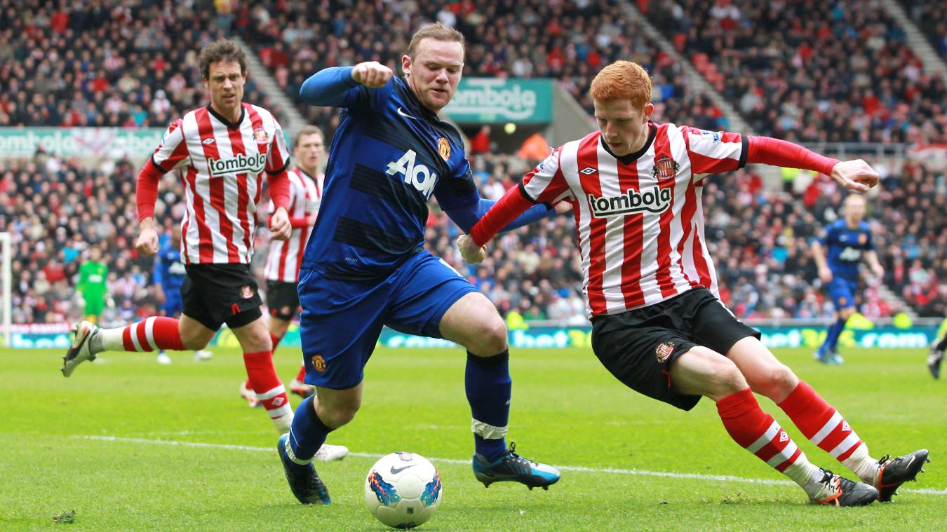 Wayne Rooney scored in the final-day win over Sunderland