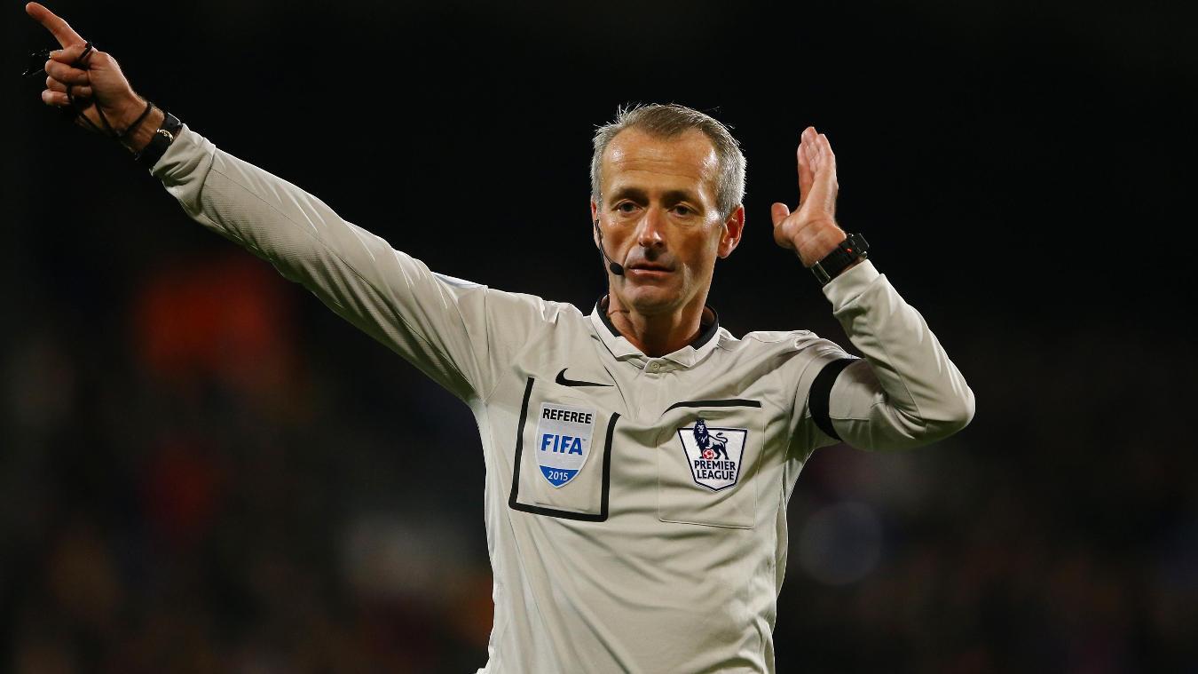 Martin Atkinson has been a Premier League referee since 2004