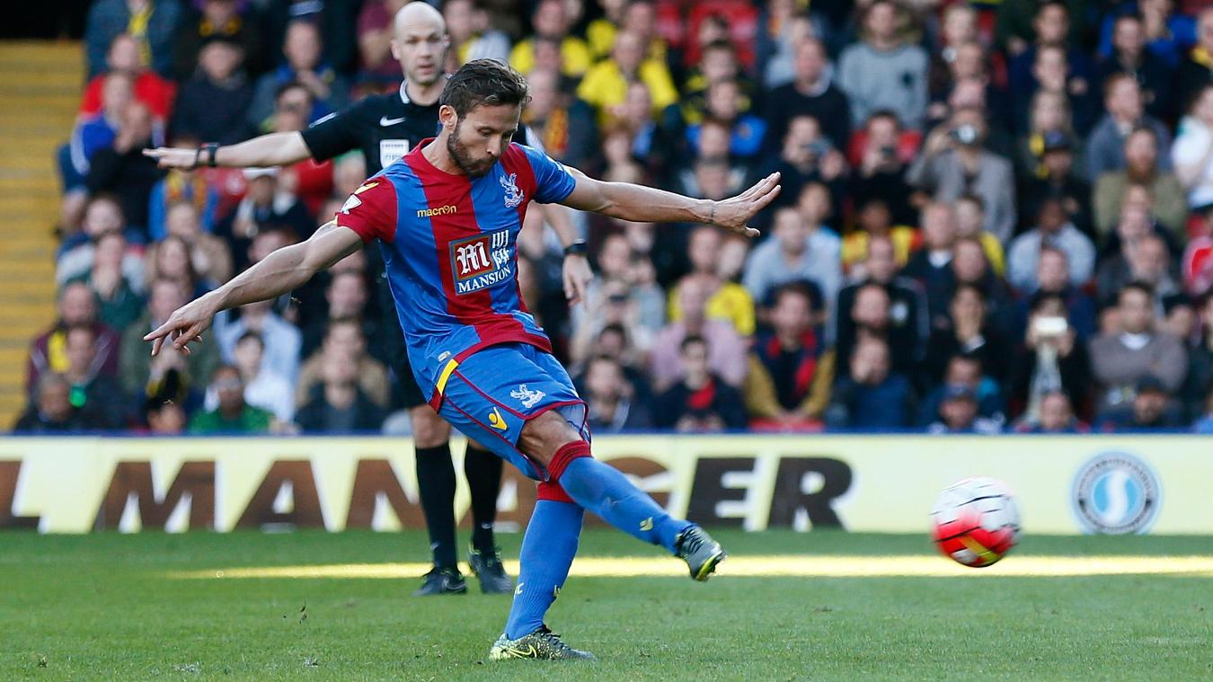 Yohan Cabaye was Palace's joint-top scorer in 2015/16 with five goals