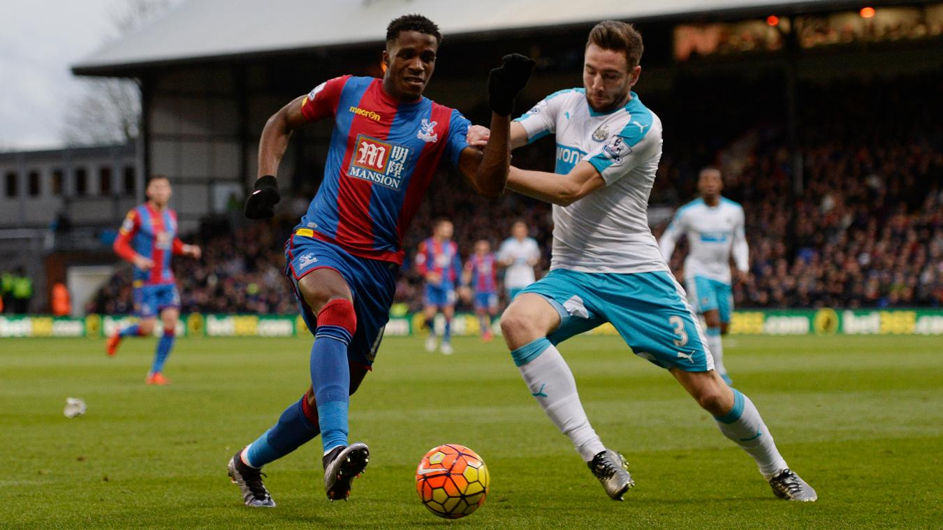 Adrian Clarke believes Palace were too dependent on their wingers, such as Wilfried Zaha