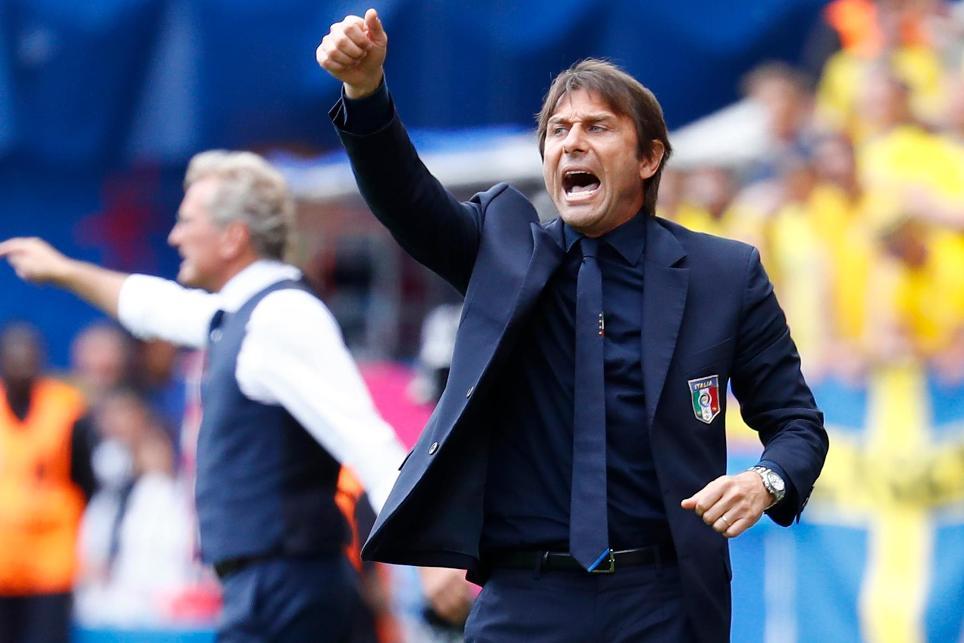 New Chelsea manager Antonio Conte