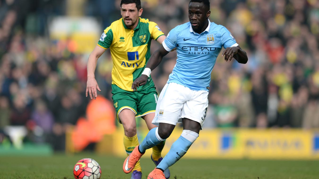 Bacary Sagna, 33, is one of the Man City regulars in his thirties